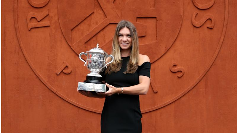 Henin impressed by Halep ahead of French Open defence