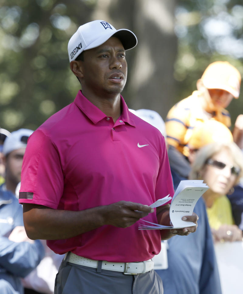 Woods doesn't think he deserved 2-shot penalty