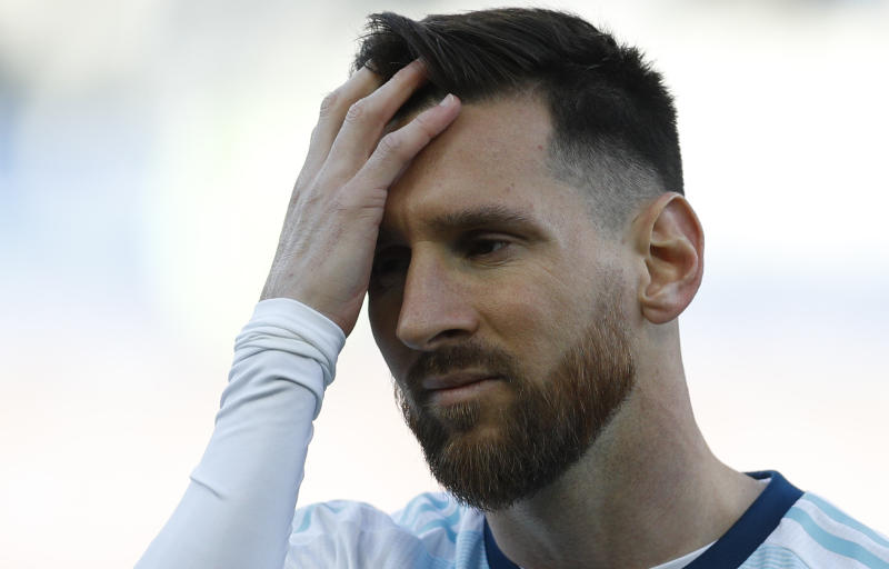 Lionel Messi handed three-month suspension from Argentina team for 'corruption' comments