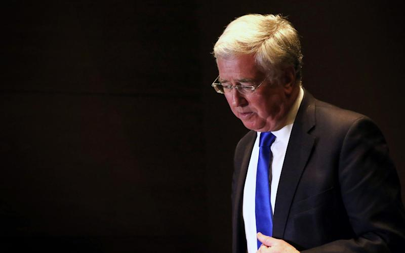 Sir Michael Fallon - Credit: SAFIN HAMED/AFP or licensors