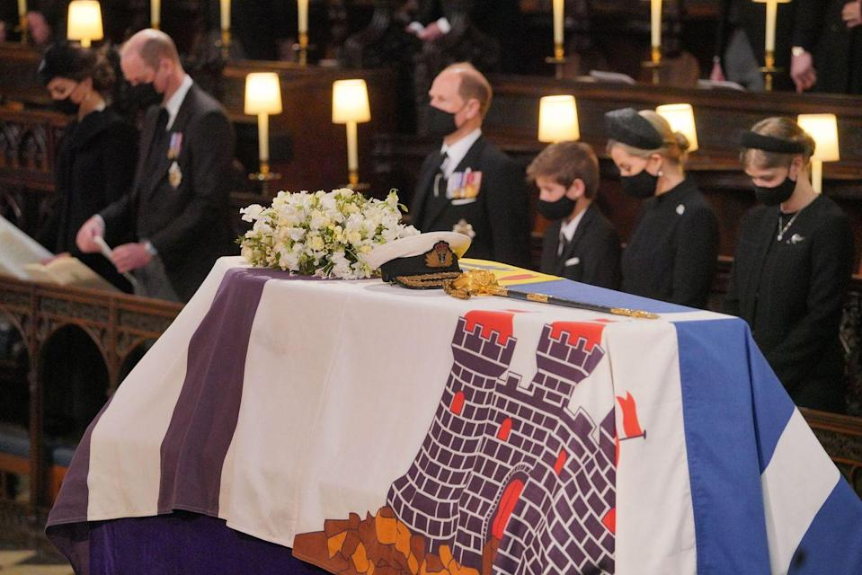 <p>Prince Philip personally chose the songs and readings that were performed during the ceremony.</p>