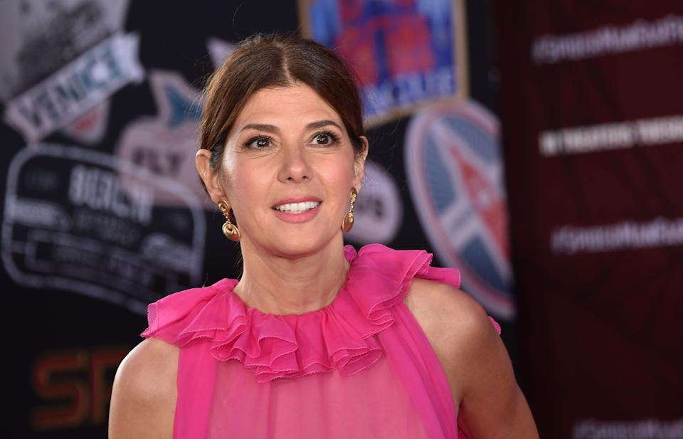US actress Marisa Tomei arrives for the