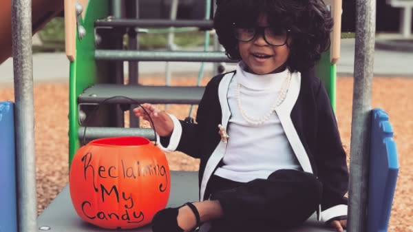 Bow Down Before This Toddler Who Dressed As Maxine Waters For Halloween