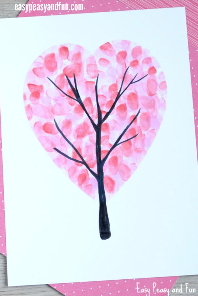 """<p>This finger painting activity might get a little messy, but that's all part of the fun!</p><p><strong>Get the tutorial at <a href=""""https://www.easypeasyandfun.com/valentines-day-heart-fingerprint-tree/"""" rel=""""nofollow noopener"""" target=""""_blank"""" data-ylk=""""slk:Easy Peasy and Fun"""" class=""""link rapid-noclick-resp"""">Easy Peasy and Fun</a>.<br></strong></p><p><a class=""""link rapid-noclick-resp"""" href=""""https://www.amazon.com/HOMKARE-Finger-Paints-Toddlers-Washable/dp/B082PXRY26/ref=sr_1_2_sspa?tag=syn-yahoo-20&ascsubtag=%5Bartid%7C10050.g.1584%5Bsrc%7Cyahoo-us"""" rel=""""nofollow noopener"""" target=""""_blank"""" data-ylk=""""slk:SHOP FINGER PAINT"""">SHOP FINGER PAINT</a><strong><br></strong></p>"""