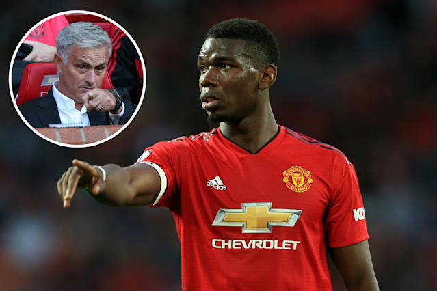 Paul Pogba is seemingly keen for a Manchester United exit but Jose Mourinho has shut the door on a possible move to Barcelona