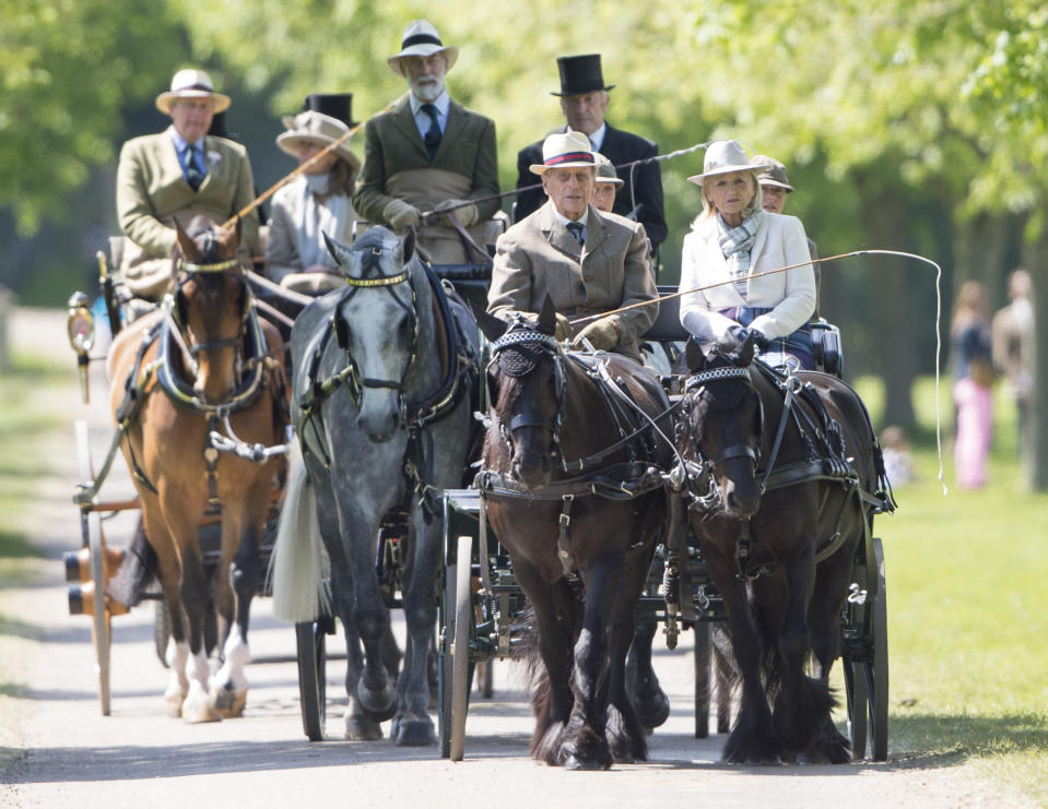 He's known to enjoy a horse drawn carriage ride. Photo: Getty