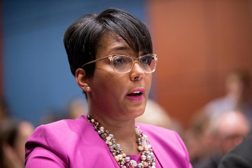 Atlanta Mayor (Copyright 2019 The Associated Press. All rights reserved)