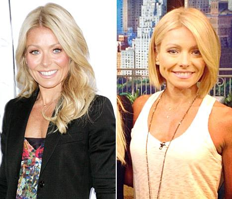 Kelly Ripa's Sleek New Bob: Is Her Hair Better Now or Before?