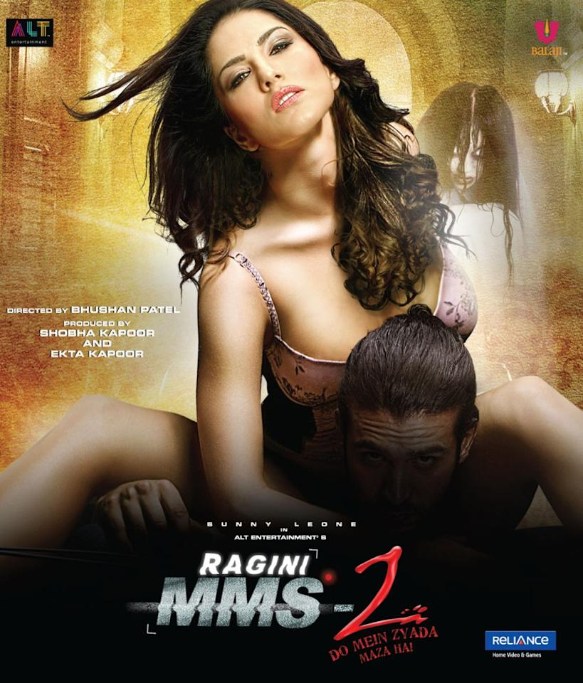 <p>An erotic thriller which features sex, sex and more sex, Ragini MMS 2 which has Sunny Leone as a porn star, is the sequel to the 2011 horror flick Ragini MMS. In the second instalment of the franchise, a sleazy director decides to shoot his erotic thriller in a haunted house. As expected, 'spooky' things happen during the shoot. Apart from a couple of hair-raising moments, the film fails to scare. </p>