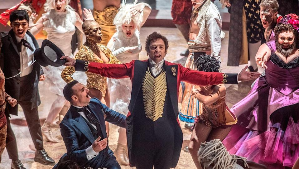 Hugh Jackman takes centre stage in 'The Greatest Showman' (credit: 20th Century Fox)
