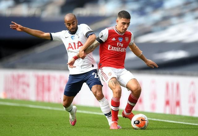 Bellerin and his Arsenal team-mates will be looking to win at rivals Tottenham on Sunday.
