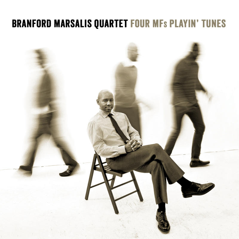 """This CD cover image released by Marsalis Music shows the latest release by Branford Marsalis Quartet, """"Four MF's Playin' Tunes."""" (AP Photo/Marsalis Music)"""