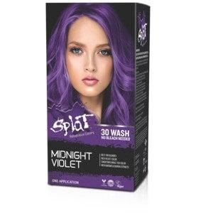 """<h2>Splat Rebellious 30 Wash Hair Color</h2><br><br>Worried about whether or not a vivid shade will be as bright as it looks on the box? Grab this Splat formula, which is made specifically to pop on dark strands. While other <a href=""""https://www.refinery29.com/en-us/2020/04/9706867/how-to-dye-blue-hair-quarantine"""" rel=""""nofollow noopener"""" target=""""_blank"""" data-ylk=""""slk:temporary colors"""" class=""""link rapid-noclick-resp"""">temporary colors</a> wash out instantly, this one can last up to 30 washes, so we recommend going with a shade like purple that'll gradually (and graciously) fade away as the days go by.<br><br><strong>Splat</strong> Splat Rebellious 30 Wash Hair Color, $, available at <a href=""""https://go.skimresources.com/?id=30283X879131&url=https%3A%2F%2Fwww.cvs.com%2Fshop%2Fsplat-rebellious-30-wash-hair-color-prodid-2180055"""" rel=""""nofollow noopener"""" target=""""_blank"""" data-ylk=""""slk:CVS"""" class=""""link rapid-noclick-resp"""">CVS</a>"""