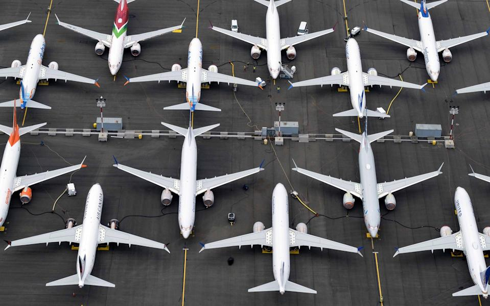 737 MAX remain grounded around the world - including Seattle, where they are made - 2019 Getty Images