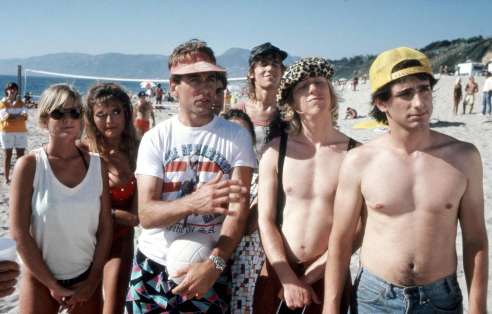 <p>In <b>Summer School</b>, Courtney Thorne-Smith's Pam (far left) assumes that her too-cool-for-school teacher (Mark Harmon) might consider her a love interest, since he has a 21-year-old girlfriend, but Mr. Shoop doesn't cross the line.</p>