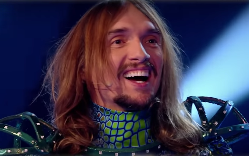 Justin Hawkins appeared on The Masked Singer: ITV