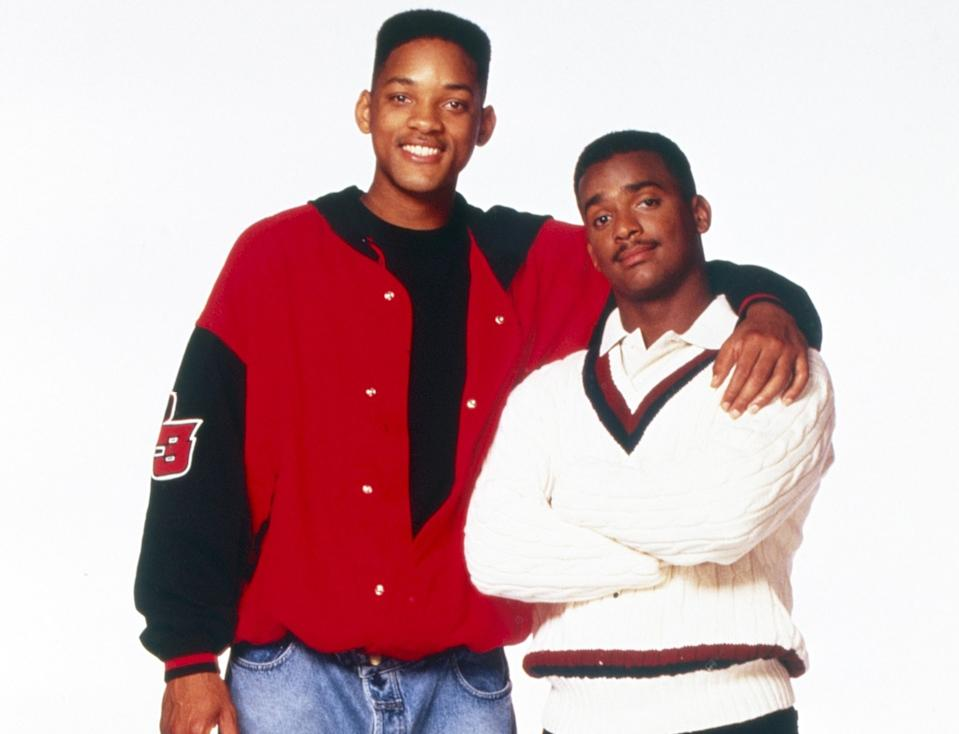 Will Smith and Alfonso Ribeiro in 'The Fresh Prince of Bel-Air,' which aired its series finale 25 years ago (Photo: Chris Haston/NBC/Courtesy Everett Collection)