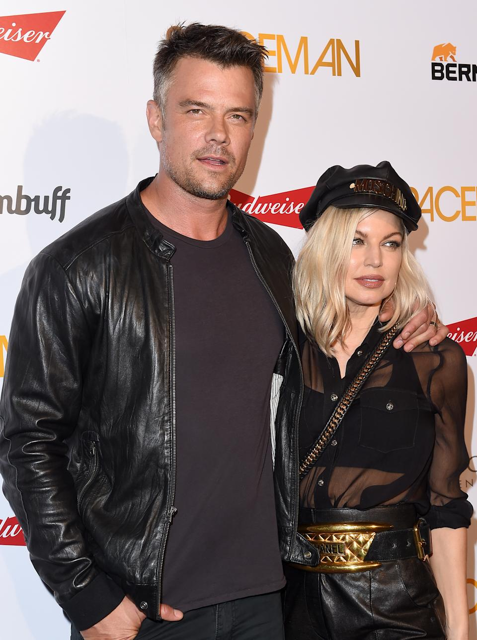 WEST HOLLYWOOD, CA - AUGUST 07:  Actor Josh Duhamel and wife singer Fergie arrive at the premiere of Orion Pictures' 'Spaceman' at The London Hotel on August 7, 2016 in West Hollywood, California.  (Photo by Axelle/Bauer-Griffin/FilmMagic)