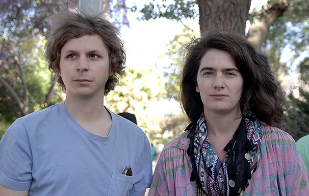 Gaby Hoffmann, right, and Michael Cera in 'Crystal Fairy'