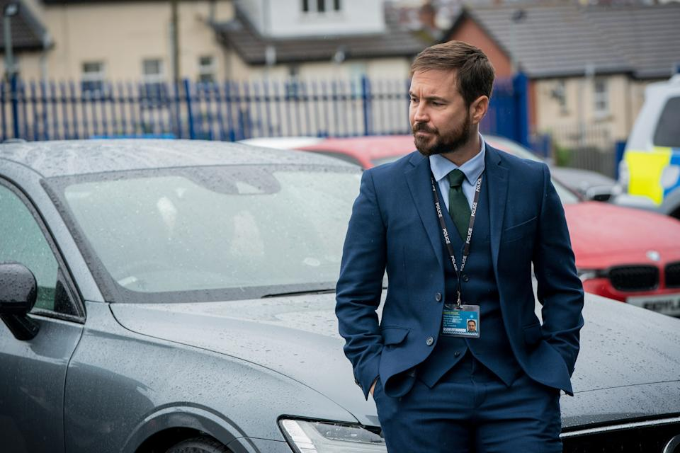 WARNING: Embargoed for publication until 00:00:01 on 30/03/2021 - Programme Name: Line of Duty S6 - TX: n/a - Episode: Line Of Duty - Ep 3 (No. n/a) - Picture Shows:  DI Steve Arnott (MARTIN COMPSTON) - (C) World Productions - Photographer: Steffan Hill
