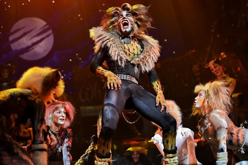 """A scene from the musical """"Cats"""" which will return to Broadway at the Neil Simon Theatre"""