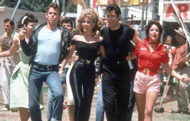 The resemblance is uncanny when you look at this retro still of Olivia Newton John and John Travolta. Source: Supplied