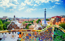 <p>The winding queues outside of the city's Sagrada Família hint at Barcelona's rising popularity. Whether it's the capital's must-see (must-Instagram) Park Güell or La Rambla, we'd never say no to a spontaneous trip. <em>[Photo: Getty]</em> </p>