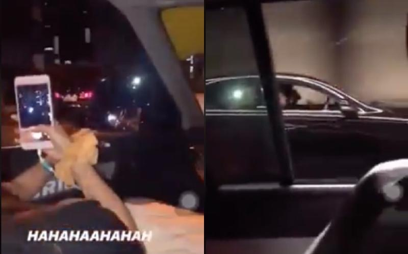 Footage of street racing youngsters foolishly uploaded on Instagram