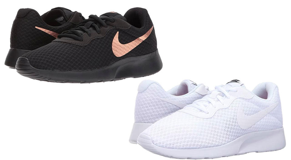 Nike Tanjun sneakers are 25 percent off. (Photo: Zappos)