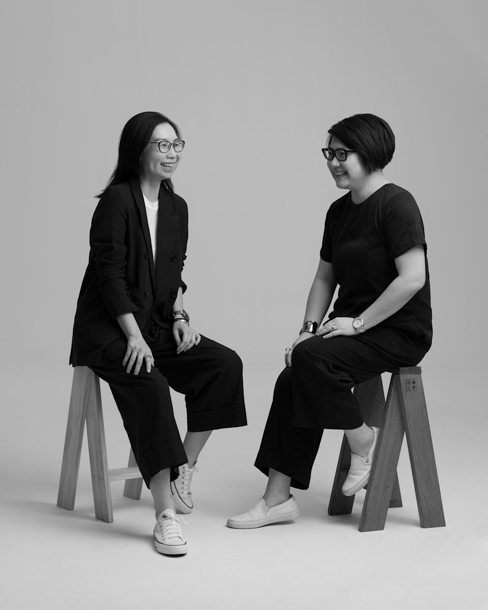 PHOTO: Nana & Bird. The founders (from left): Georgina and Chiew Ling.