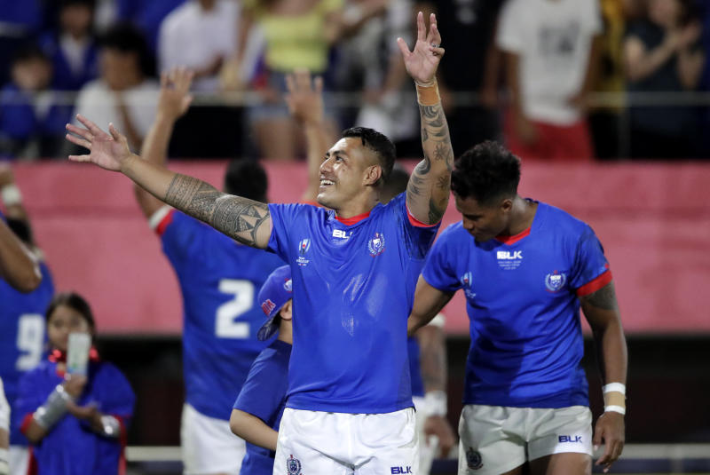 Japan Rugby WCup Russia Samoa
