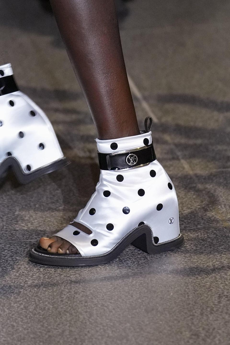 <p>Shoes from Louis Vuittono spring 2022 collection.</p>