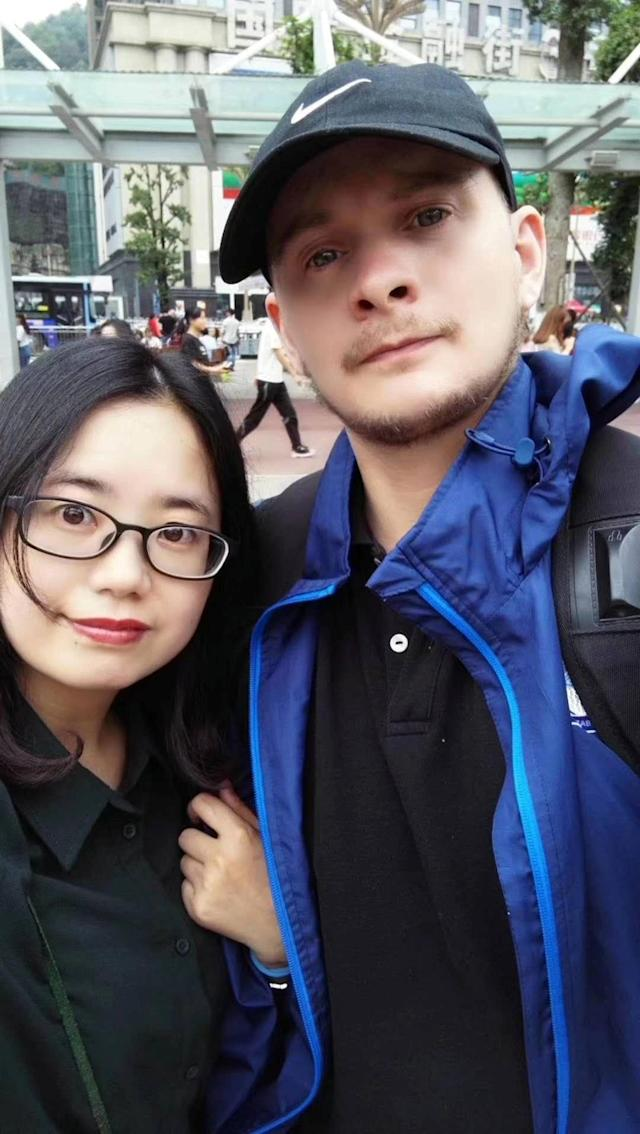 Moore said he and his wife had already self-isolated for a month in China before flying to the UK. (Picture: SWNS)