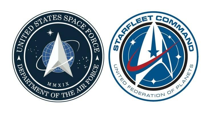 The Pentagon has yet to explain why the two logos look so similar: CBS