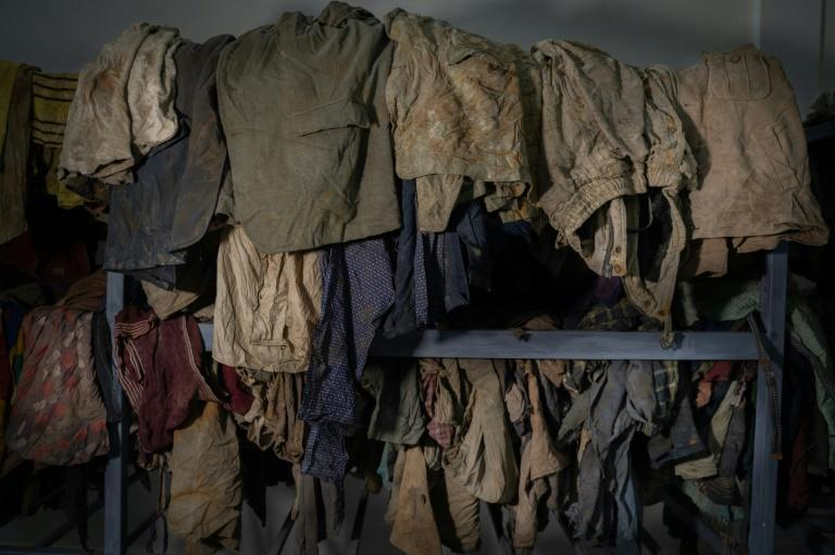 Mukakamanzi had hoped to see remnants of her mother's clothing among the belongings of victims of the genocide, kept at the memorial in Kibuye, western Rwanda