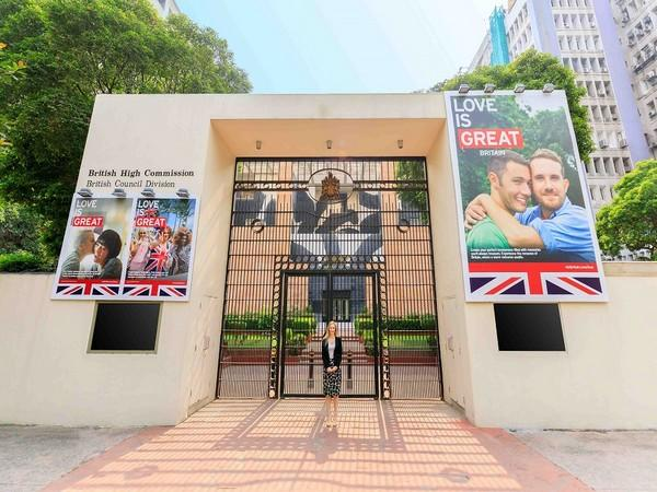 British High Commission celebrating the second anniversary of India's historic judgement to repeal Section 377 and decriminalise homosexuality (Photo Credit: UKinIndia)