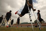 For ICRC spokesman Hesham Mhanna, the players are 'heroes', who send a message that it is possible to overcome obstacles stemming from disability