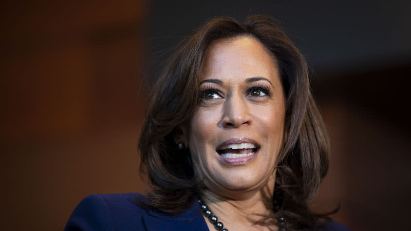 "<p>U.S. Sen. Kamala Harris is trying to become the first black woman to serve as U.S. president. She was elected in 2016 to represent California in the U.S. Senate and has since earned a reputation as a tough questioner of U.S. President Donald Trump's nominees. The 54-year-old politician was born in Oakland, Calif., and went to Westmount High School in Montreal. She is a trained attorney who served as California's attorney general for two terms. She has positioned herself to be a fighter ""for the people,"" calling health care and education fundamental rights. Harris has referred to the hardline immigration policy at the U.S.-Mexico border as a ""human rights abuse."" Photo from Getty Images. </p>"