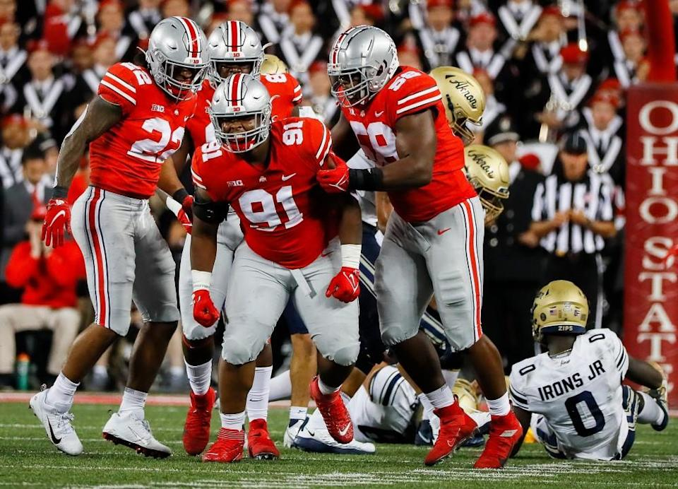 Updated Ohio State football ESPN remaining game-by-game predictions