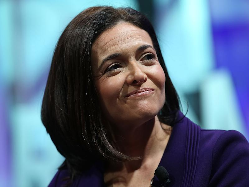 Ms Sandberg made the comment during her first public interview since Facebook disclosed the ads exist: Getty