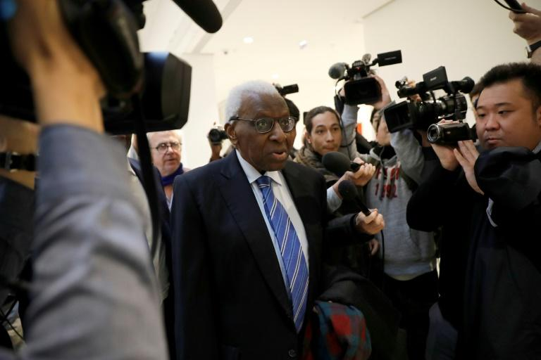 Lamine Diack was head of athletics' global body for 16 years