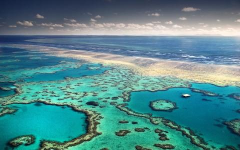 The Great Barrier Reef - Credit: Getty