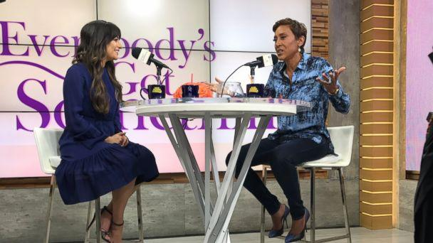 PHOTO: Lea Michele shares details about her highly-anticipated second studio album, 'Places,' in an episode of Robin Roberts' podcast 'Everybody's Got Something.' (Gabriel Kerr/ABC News)