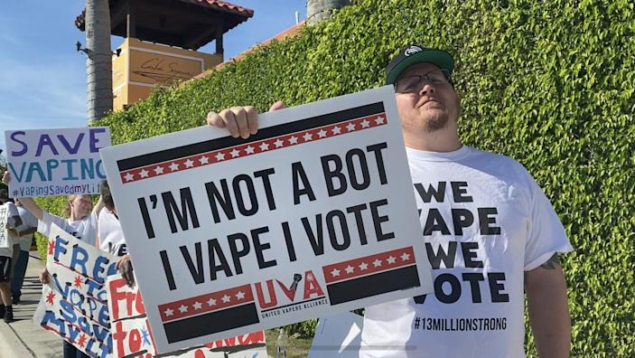 Vapers are fighting for right to vape