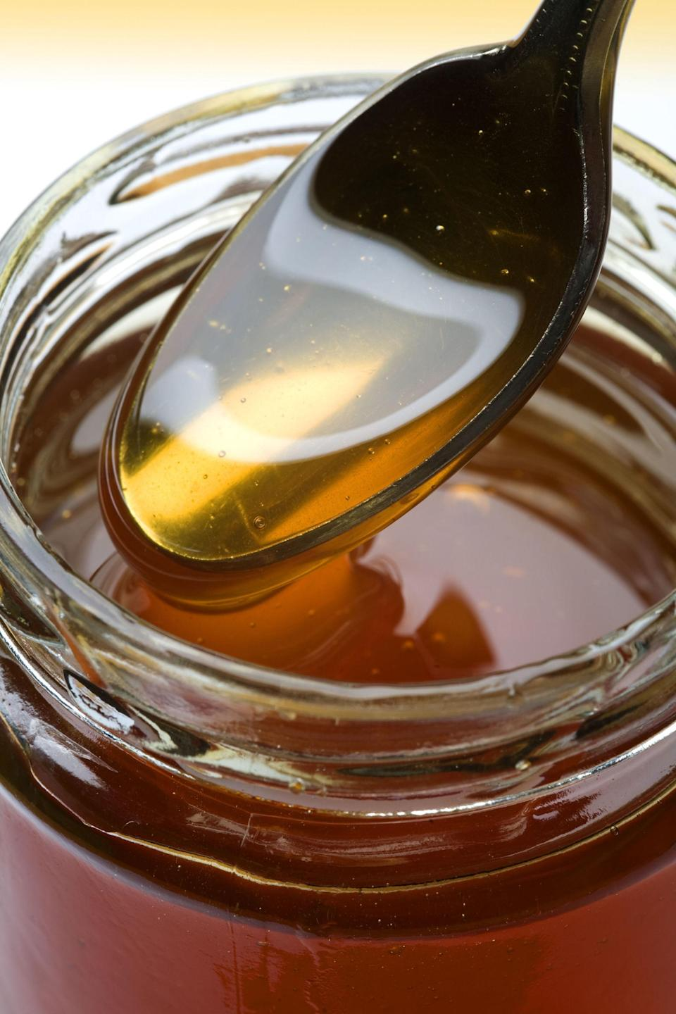 """<p>Someone should tell Mary Poppins that a just a spoonful of honey <a href=""""http://www.goodhousekeeping.com/health/wellness/a44659/sore-throat-remedies/"""" rel=""""nofollow noopener"""" target=""""_blank"""" data-ylk=""""slk:helps the cough go away"""" class=""""link rapid-noclick-resp"""">helps the cough go away</a>! Children with upper respiratory tract infections who drank 1.5 teaspoons of <a href=""""https://www.amazon.com/Gunters-Pure-Eucalyptus-Honey-16/dp/B0037JOICW?tag=syndication-20"""" rel=""""nofollow noopener"""" target=""""_blank"""" data-ylk=""""slk:eucalyptus"""" class=""""link rapid-noclick-resp"""">eucalyptus</a>, <a href=""""https://www.amazon.com/Orange-Blossom-Honey-16oz-Natural/dp/B004CGC86M?tag=syndication-20"""" rel=""""nofollow noopener"""" target=""""_blank"""" data-ylk=""""slk:citrus"""" class=""""link rapid-noclick-resp"""">citrus</a> or labiatae honey 30 minutes before bedtime saw more cough relief and slept better than sick kids who received a placebo, says a<a href=""""https://urldefense.proofpoint.com/v2/url?u=http-3A__pediatrics.aappublications.org_content_early_2012_08_01_peds.2011-2D3075&d=CwMFaQ&c=B73tqXN8Ec0ocRmZHMCntw&r=pKF3hEpYBHDBlkffNwzhI_SBeXsVofUEEAZPeTW6XQE&m=a8tXtM2RXESpB_fDsKA6VDlbnL3x2-dDZeUv3rwfMe4&s=cCsVAnLRIbx94SnqeWjRfTx2FrFBepNrRas1hBMVlDw&e="""" rel=""""nofollow noopener"""" target=""""_blank"""" data-ylk=""""slk:2012 study"""" class=""""link rapid-noclick-resp""""> 2012 study</a> in <em>Pediatrics</em>. </p>"""