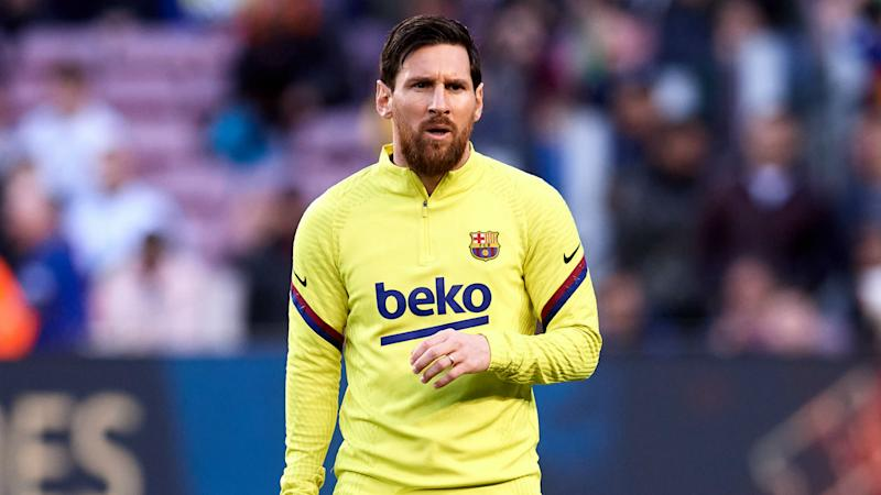 Messi takes part in Barcelona training for first time since failed attempt to leave