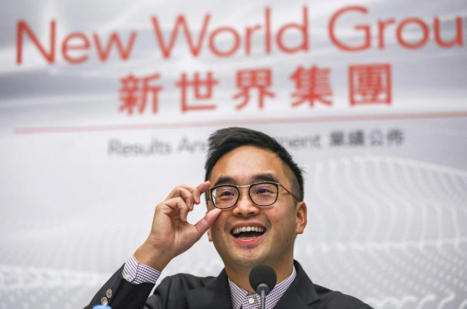 Adrian Cheng Chi-kong, NWD's executive vice-chairman and chief executive. Photo: Tory Ho