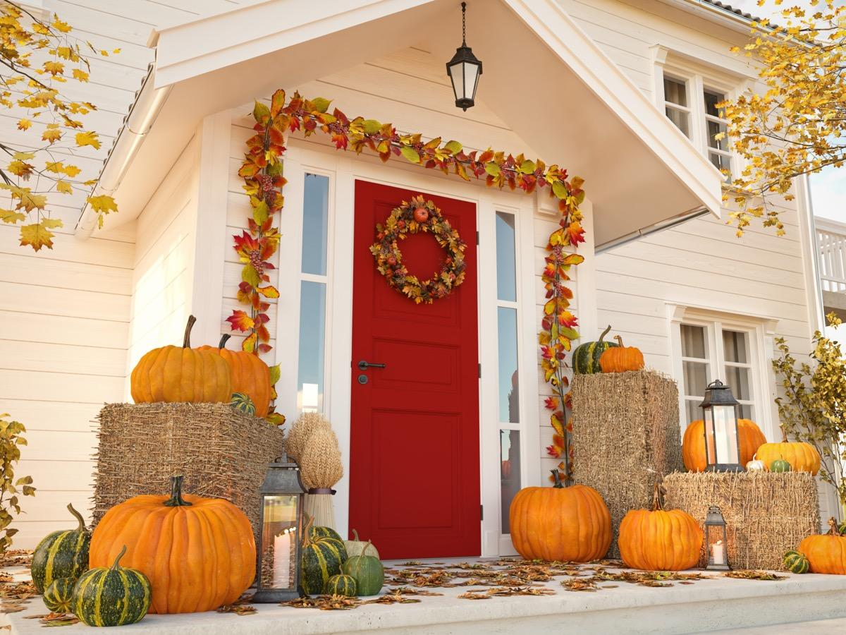 """Fall is the season for putting on a cozy sweater, popping in your favorite movie, and enjoying the pumpkin-flavored treat of your choice from the comfort of your home. So don't you want your house to be cozier than ever? As Salt Lake City-based interior designer <strong><a href=""""https://www.julieassenberg.com/"""" target=""""_blank"""">Julie Assenberg</a></strong>says, """"fall is the best time to fall in love with your home."""" But if there are some things you'd like to change to your interior or exterior, it's also a great time to make some home upgrades. Between the pitch-perfect weather and holiday sales (Columbus Day! <a href=""""https://bestlifeonline.com/best-black-friday-deals/?utm_source=yahoo-news&utm_medium=feed&utm_campaign=yahoo-feed"""">Black Friday</a>! <a href=""""https://bestlifeonline.com/cyber-monday-tips/?utm_source=yahoo-news&utm_medium=feed&utm_campaign=yahoo-feed"""">Cyber Monday</a>!), you can do a whole lot to your house with fewer funds. From minor maintenances to major upgrades, here are the home projects to consider taking on this fall.      <div class=""""number-head-mod number-head-mod-standalone"""">         <h2 class=""""header-mod"""">                     <div class=""""number"""">1</div>             <div class=""""title"""">Upgrade your exterior accessories.</div>                     </h2>     </div>"""
