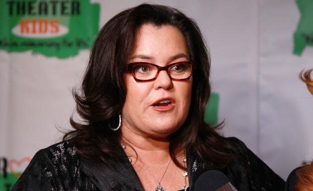 Rosie O'Donnell attends Rosie O'Donnell's Annual Building Dreams For Kids Gala at The New York Marriott Marquis in New York City on October 15, 2012  -- Getty Premium