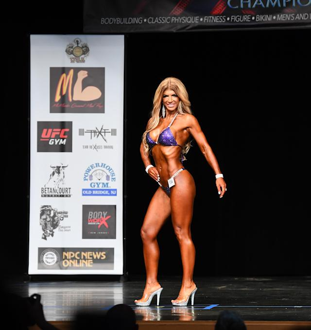 From <em>Real Housewives</em>&nbsp;star to bodybuilder. (Photo: Getty Images)